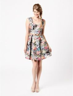 Review Australia Olivia Dress $289.99/ sale  $139.00 In stock A season standout, the Olivia Dress features a stunning painterly floral print. Features include a flattering sweetheart neckline and box pleat full skirt with a taffeta lining. Add interest with a slimline belt, or wear alone.