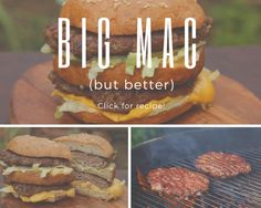 This recipe is easy to make at home and you'll be surprised how tasty it is compared to a McDonalds Big Mac. I don't normally do these types of recipes but there's a couple I wanted to cover and the Big Mac was one of them! Weber Bbq Recipes, Big Mac, Mcdonalds, Caramel Apples, Things I Want, Tasty, Beef, Couple, Cover