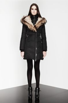 """Mackage """"TRISH"""", a coat fit for a princess. $790.00CAD Mackage Jacket, Online Shopping For Women, Winter Coats, Fur Coat, Passion, Princess, My Style, Makeup, Fit"""