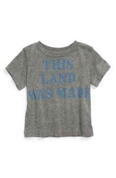 Peek 'This Land Was Made for You and Me' Graphic T-Shirt (Toddler Boys, Little Boys & Big Boys) available at #Nordstrom