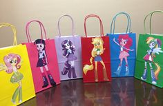 Equestria Girls Party Bags