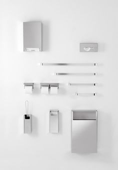 Agape, Mach, Konstantin Grcic 2000 #agapedesign - A program realised for the domestic bathroom as well as for public spaces