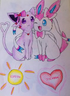 espeon and sylveon julia pokelito