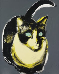 Andy Warhol, Black and White Cat                                                                                                                                                      More