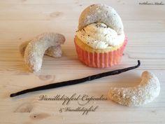 Schnin's Kitchen: Vanillekipferl-Cupcakes & Vanillekipferl