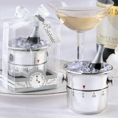 """""""It's About Time! Let's Celebrate"""" Champagne Bucket Timer - Boda - Recuerdos Originales para Eventos... Haz que tu evento lo recuerden todos!"""