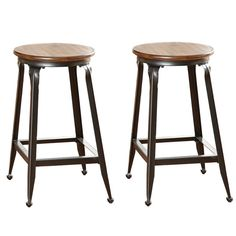Counter Height Stool (Set of 2) - Overstock™ Shopping - Great Deals on Bar Stools 24 inches high  $114 for 2