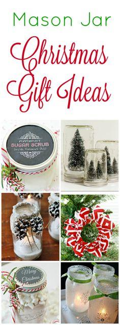Mason Jar Christmas Gift Ideas