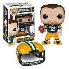 NFL Wave 2 Pop! Vinyl Figure Aaron Rodgers [Green Bay Packers]