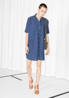 & Other Stories | Oversized Denim Dress