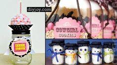 53 Coolest DIY Mason Jar Gifts + Other Fun Ideas in A Jar   DIY Joy Projects and Crafts Ideas