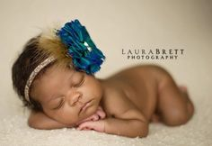 laura brett photography - love this headband.....wonder if I could make a similar one?