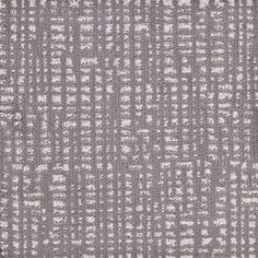 STAINMASTER Signature Squares 6-Pack 18-in x 18-in Hi Ho Silver Cut and Loop Reusable Connector Carpet Tile