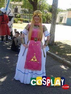Princess Zelda Cosplay from The Legend of Zelda in Expomanga 2014 ES