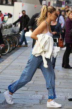 Gigi Hadid Shows Us The Perfect Way To Wear Polka Dots