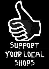 Support your local shops. What means a lot to you about the place you live.a neighborhood coffee shop, local watering hole, florist or store?