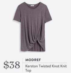 Love the idea of the twisted knot! xoxo- SLC