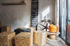 Silo restaurante, la decoración ligada a un concepto #restaurant #interiordesign