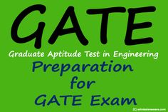 How to Start Preparation for GATE Exam 2015