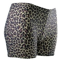 "GemGear Leopard Print Spandex Volleyball Shorts - SIZE: Medium by GemGear. $22.99. Volleyball spandex with bite! Be original this volleyball season and make an impact with these compression shorts. Made with polyester/spandex material blend for comfort and dryness. 2.5"" inseam."