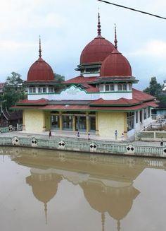 Masjid Darussalam at Koto Baru, Padang Panjang, West Sumatera, Indonesia