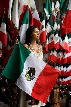 Today is Independence Day in Mexico.  Some history: http://themexicoreport.com/2013/09/15/mexican-independence-day-sept-16/ Pic from https://www.facebook.com/VisitMexico