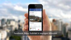 Im März 2016 hat Facebook automatische Untertitel als Feature angekündigt, für alle verfügbar ist die Funktion aber längst nicht. Aktuell sehen wir immer noch extrem viele Videos auf Facebook ohne Untertitel, dabei sind teilweise bis zu 95% der Videoviews ohne Ton. Laut einer Studie sind [... mehr ...]