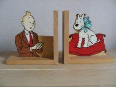 Tintin/Kuifje - Bookends - Tintin + Snowy  - (1980)