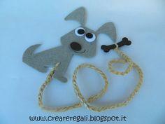 segnalibro cane | da Creareregali Handmade