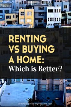 Renting vs buying is a big debate in the personal finance world. Find out the verdict here.