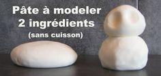 Modeling clay with . - Karakami - - Pâte à modeler ave… I am very happy to share with you this new recipe for modeling clay with two ingredients. She is wonderfully soft and malleable . Infant Activities, Activities For Kids, Modeling Clay Recipe, Diy For Kids, Crafts For Kids, Handmade Crafts, Diy Crafts, Plasticine, Puffy Paint