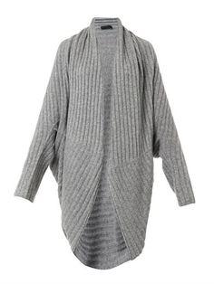 Ilia ribbed-knit cocoon cardigan   The Row   MATCHESFASHION.COM