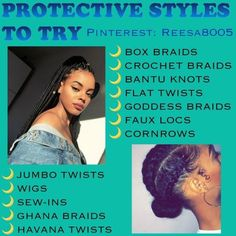 Protective Styles to try Protective Styles to try - Black Girl. Protective Styles to try Protective Styles to try - Black Girl Natural Hairstyles Protective Styles, Protective Hairstyles, Marley Twists, Havana Twists, Leda Muir, Girls Natural Hairstyles, Black Girls Hairstyles, Shag Hairstyles, Fancy Hairstyles