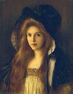 Albert Lynch「Beautifull Betty」(1890 circa)