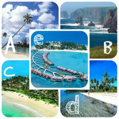 Asia es característico para el turismo ya que fabrican islas artificiales u otras cosas.