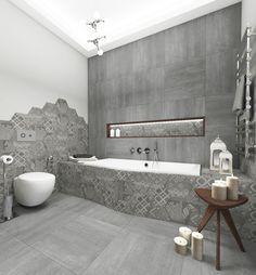 Architect Katka Petkovšek; bathroom design for private client