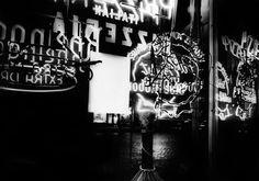 Inside a pizzeria, New York 1954-55