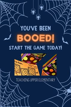 It's the season to spread some BOO! So get started SPOOKING a few! Start a little fun this season, put smiles on faces & TREATS at their places! It's a great activity to build school morale with the entire staff! You can also play with your friends or neighbors too! Keep it a SECRET, nobody will ever know who BOOed who!