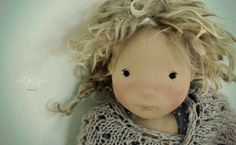 Ma Petit Vie Wool Dolls, Fabric Dolls, Paper Dolls, Art Dolls, Doll Eyes, Sewing Dolls, Waldorf Dolls, Hello Dolly, Diy Doll