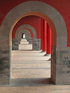 Arches in the Forbidden City