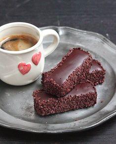 Cela fait un p'tit moment qu'il n'y avait pas eu de recette à base de chocolat sur le blog, et pour la choco-addicte que je suis c'est ...