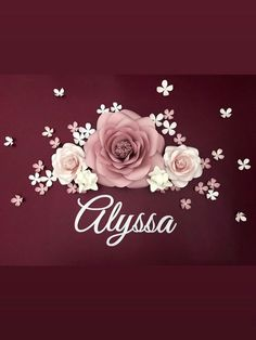 Paper Flowers Craft, Flower Crafts, Diy Love, Paper Flower Arrangements, Nursery Wall Decor, Room Decor, Flower Nursery, Flower Wall Decor, Fake Flowers
