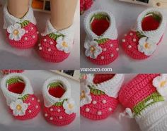Knit Baby Booties Crochet Baby Booties Crochet Shoes All Free Crochet Easy Crochet Baby Sandals Baby Shoes Baby Bootees Knitting Stitches Crochet Baby Boots, Crochet Bebe, Booties Crochet, Crochet Baby Clothes, Crochet Slippers, Crochet For Kids, Baby Booties, Baby Knitting Patterns, Baby Patterns