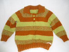 Stripe Jumper with collar age 3-4 £9.00