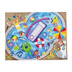 Water Fun Sticker Scenes - OrientalTrading.com