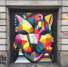 by Okuda at 214 Lafayette, NYC, 6/15 (LP)