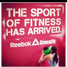 Reebok Crossfit. Fitness as a sport.