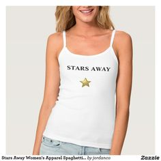 Stars Away Women's Apparel Spaghetti Strap