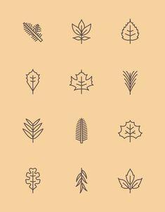 Résultats de recherche d'images pour «leaf monoline icon»