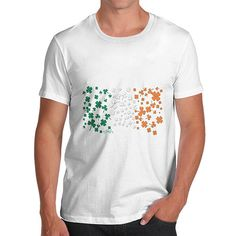 Men's Irish Clove...  Rock In Style With Twisted Envy creative Art, Personalised Gifts, funny t-shirts & more,     http://twistedenvy.com/products/mens-irish-clover-flag-t-shirt?utm_campaign=social_autopilot&utm_source=pin&utm_medium=pin
